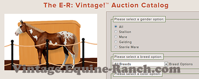Auction catalog search screenshot